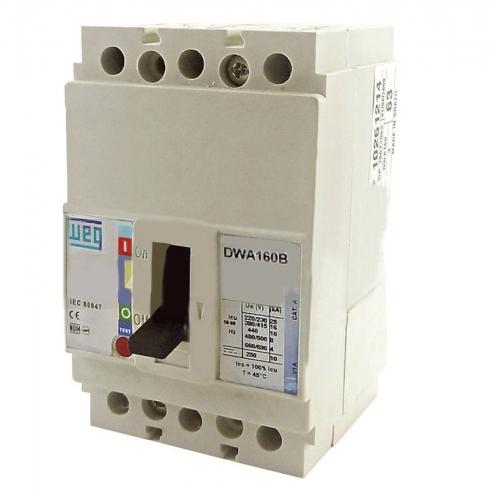 disjuntor em caixa moldada DWA160B