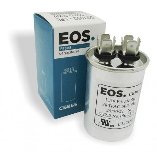 Capacitor 1,5 MFD EOS