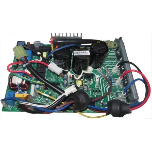PCB MIDEA  INVERTER 38MKQA18M5 / 38LVQC18C5 CONDENSADORA