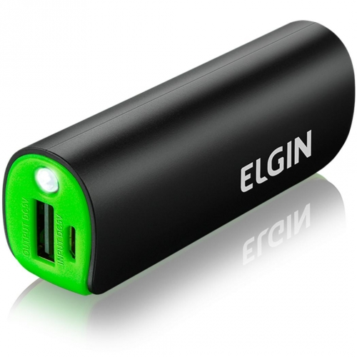 CARREGADOR CELULAR PORT USB 2600 MAH ELGIN