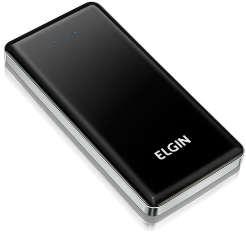 CARREGADOR CELULAR PORT USB 10000 MAH ELGIN