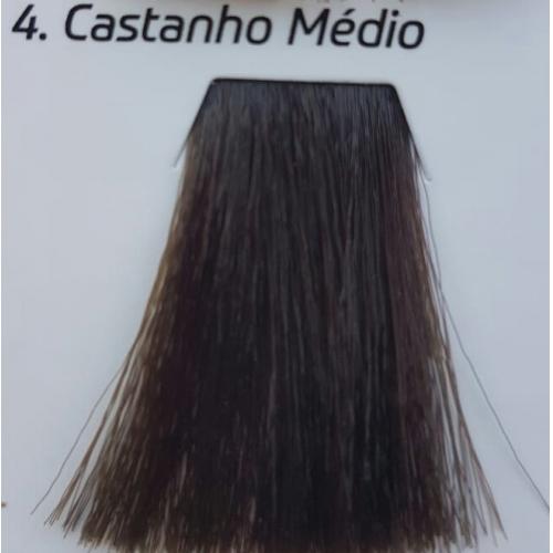 4 ENVOKE COLORE CASTANHO MEDIO 60G