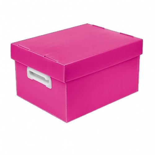 CAIXA ORGANIZADORA POLIBRAS BEST BOX G ROSA