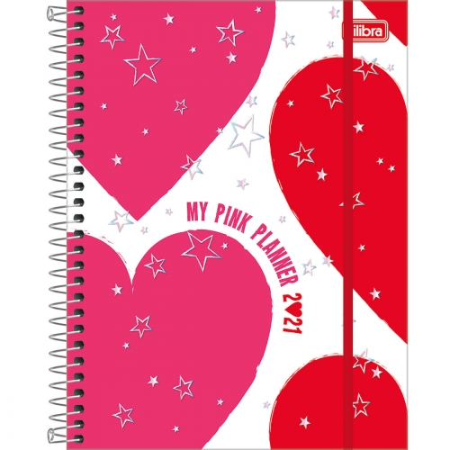 PLANNER TILIBRA LOVE PINK M7