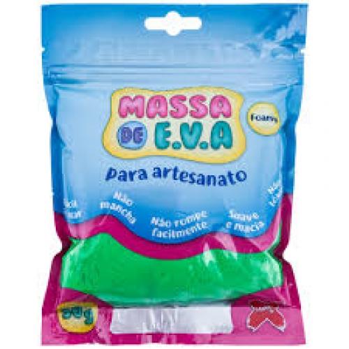 MASSA DE EVA MAKE + 50G VERDE ESCURA