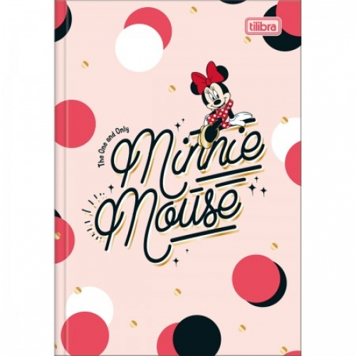 CADERNO BROCHURA 1/4 CD 48FLS TILIBRA MINNIE