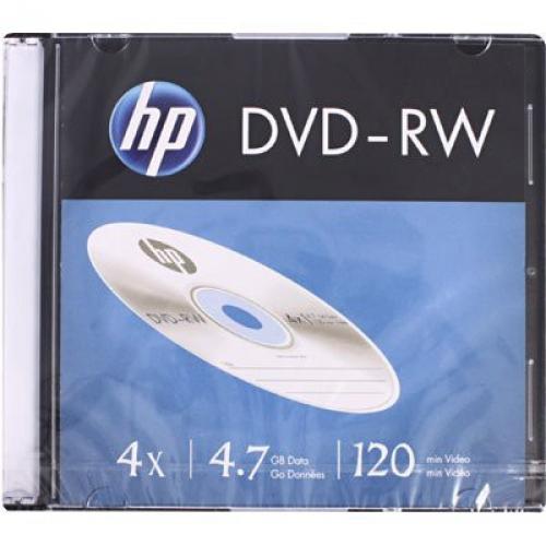 MIDIA DVD-RW HP CAIXA SLIM