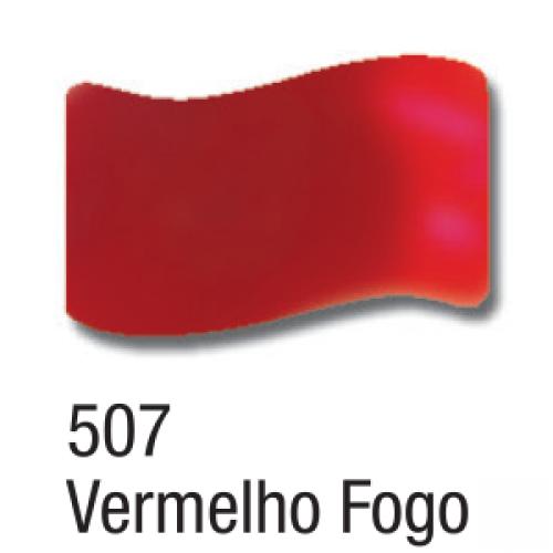 VERNIZ VITRAL ACRILEX 37ML VERMELHO FOGO
