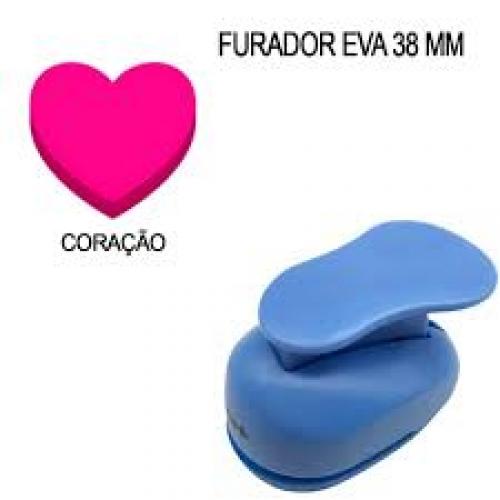 FURADOR DE EVA 38MM CORACAO MAKE+