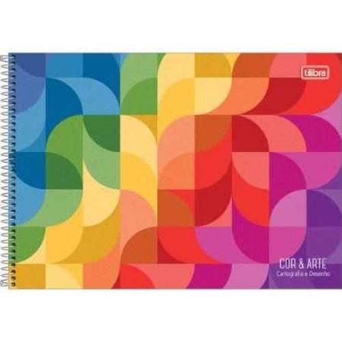 CADERNO CARTOGRAFIA CD 96FLS TILIBRA COR E ARTE