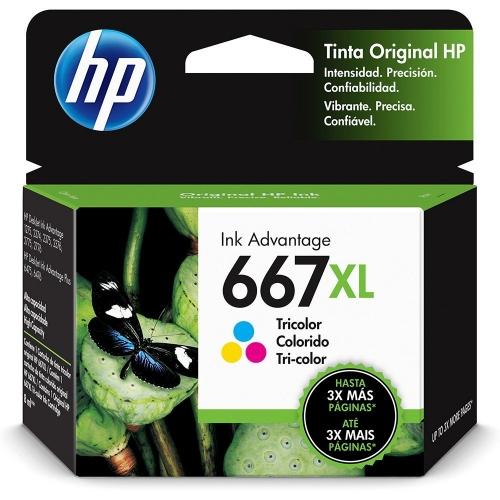 CARTUCHO HP 667XL COLOR