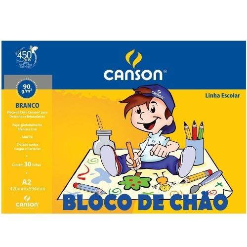 BLOCO DE CHAO A2 CANSON 90G