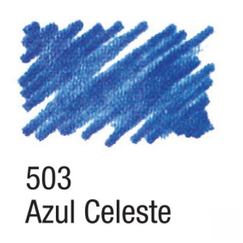 CANETA PARA TECIDO ACRILPEN ACRILEX AZUL CELESTE 503