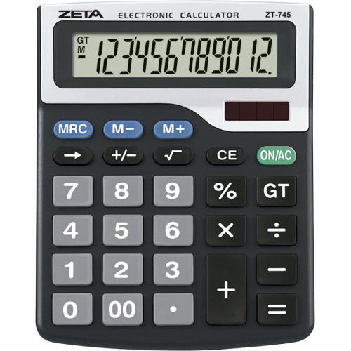 CALCULADORA DE MESA ZETA ZT745