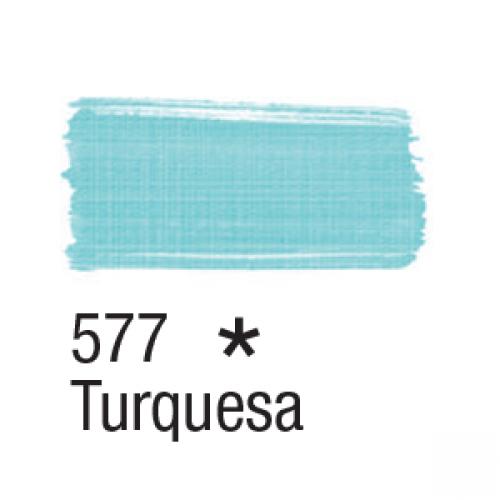 TINTA TECIDO ACRILEX 37ML TURQUESA