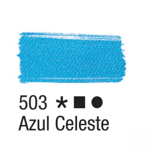 TINTA TECIDO ACRILEX 37ML AZUL CELESTE