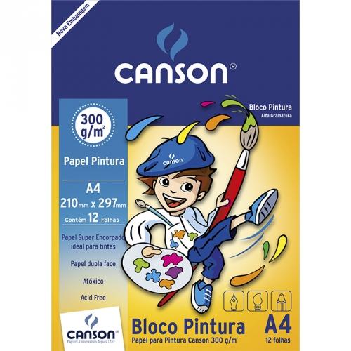 PAPEL PINTURA A4 300G 12FLS CANSON