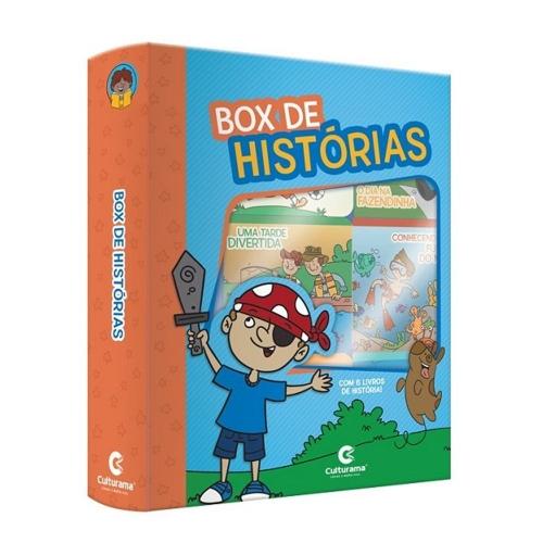 BOX DE HISTORIAS PARA MENINOS CULTURAMA