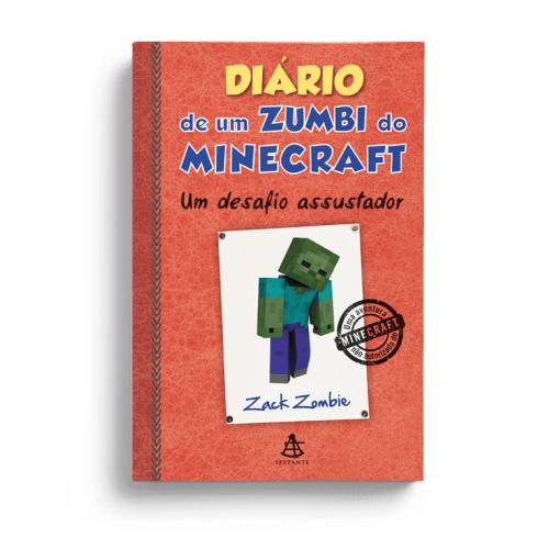 DIARIO DE UM ZUMBI DO MINECRAFT 1 - UM DESAFIO ASSUSTADOR