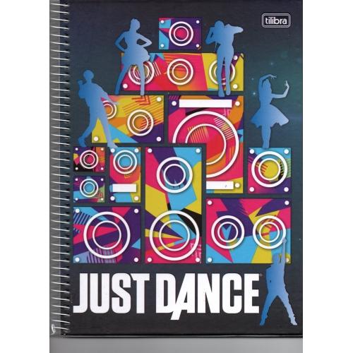 CADERNO UNIVERSITARIO 01M CD TILIBRA JUST DANCE