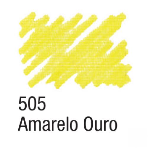 CANETA PARA TECIDO ACRILPEN ACRILEX AMARELO OURO 505