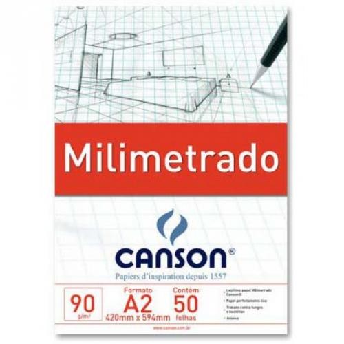 PAPEL MILIMETRADO A2 90G CANSON TECNICO