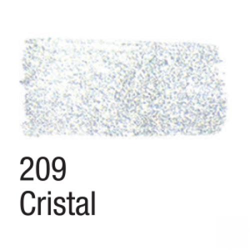 TINTA TECIDO GLITTER ACRILEX 37ML CRISTAL