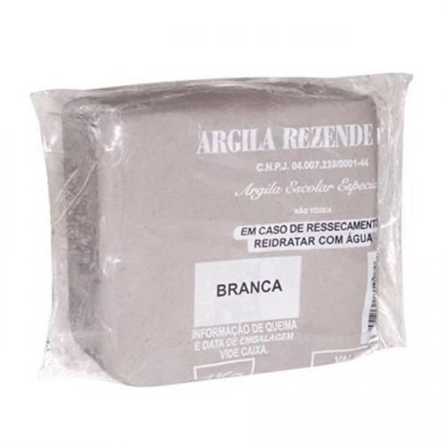 ARGILA CLARA 1KG REZENDE