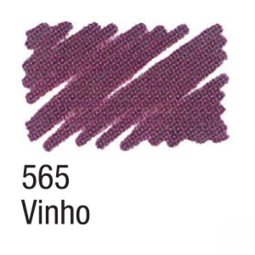 CANETA PARA TECIDO ACRILPEN ACRILEX VINHO 656