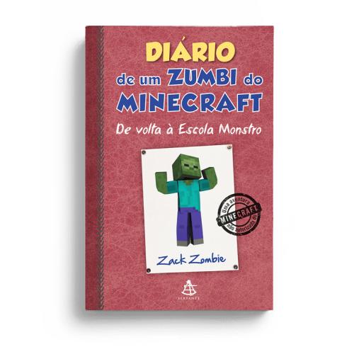 DIARIO DE UM ZUMBI DO MINECRAFT 8 - DE VOLTA A ESCOLA MONSTRO