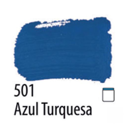 TINTA PVA FOSCA ARTESANATO ACRILEX 37ML AZUL TURQUESA