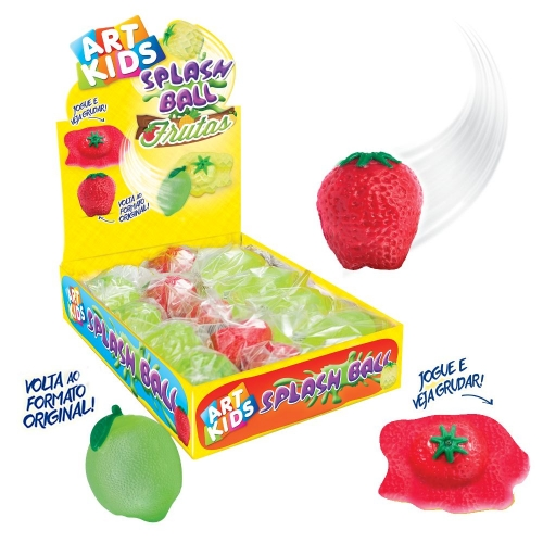 SPLASH BALL ACRILEX FRUTAS