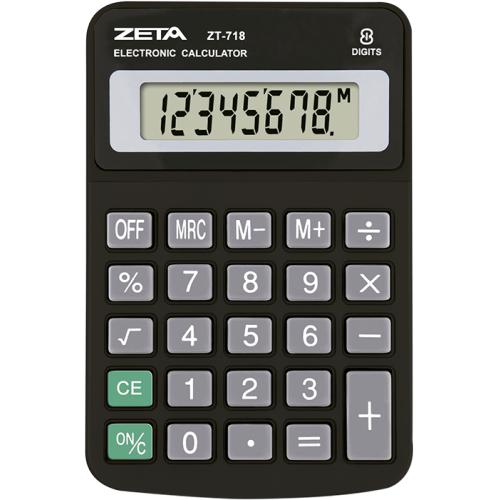 CALCULADORA DE MESA ZETA ZT718
