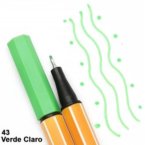 CANETA STABILO POINT 88/43 VERDE CLARO
