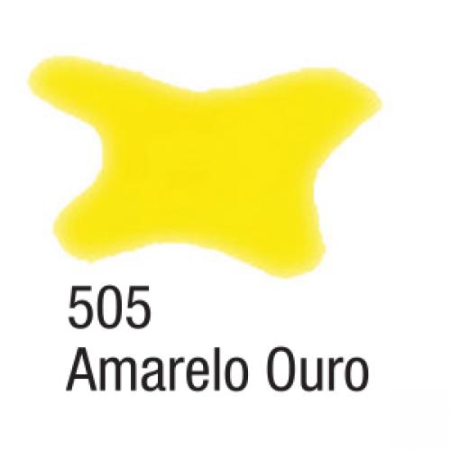 AQUARELA SILK ACRILEX 60ML AMARELO OURO