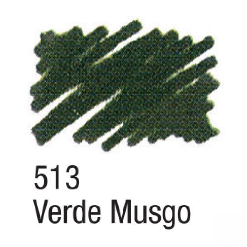 CANETA PARA TECIDO ACRILPEN ACRILEX VERDE MUSGO 513