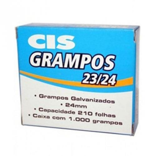 GRAMPO CIS 23/24 GALVANIZADO 1000UNDS