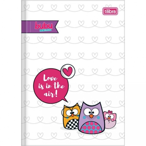 CADERNO BROCHURA CD 80FLS TILIBRA BUBU E AS CORUJINHAS