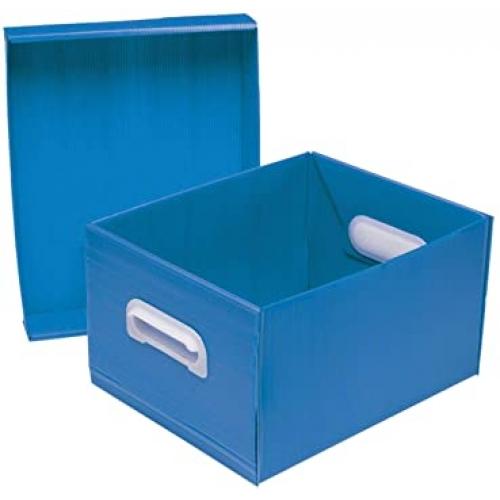 CAIXA ORGANIZADORA POLIBRAS BEST BOX M AZUL
