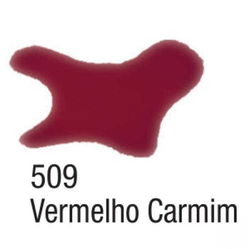 AQUARELA SILK ACRILEX 60ML VERMELHO CARMIM