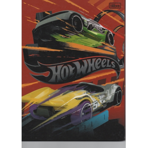 CADERNO BROCHURA CD 48FLS TILIBRA HOT WHEELS