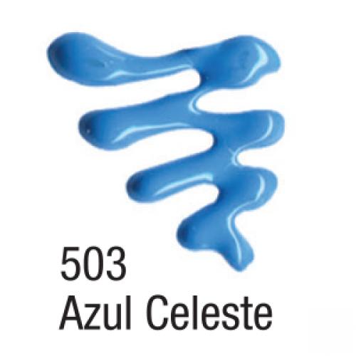 TINTA DIMENSIONAL ACRILEX 35ML AZUL CELESTE