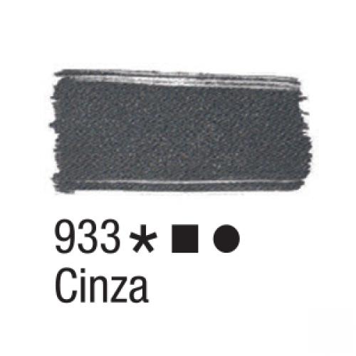 TINTA TECIDO ACRILEX 37ML CINZA