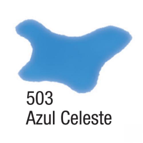 AQUARELA SILK ACRILEX 60ML AZUL CELESTE
