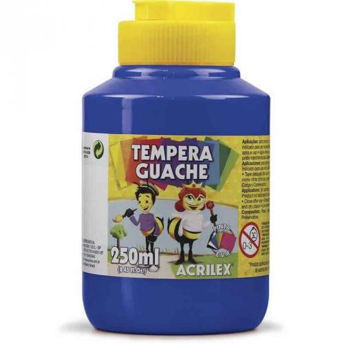 TINTA GUACHE ACRILEX 250ML AZUL TURQUESA 501