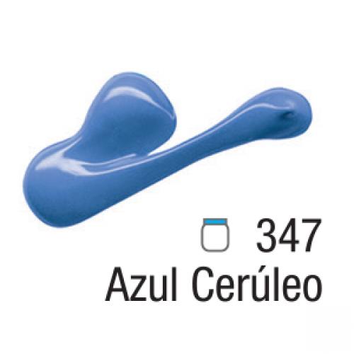 TINTA TELA ACRILICA ACRILEX 20ML AZUL CERULEO 347