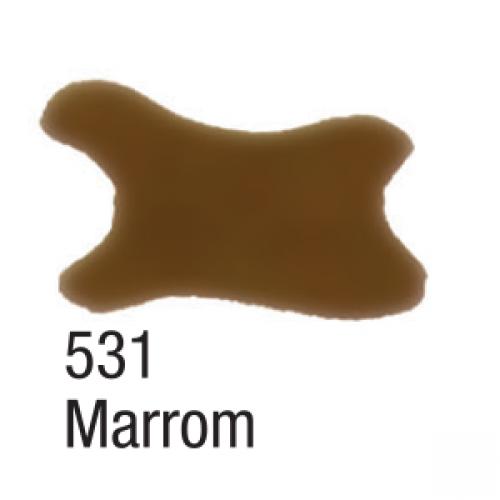 AQUARELA SILK ACRILEX 60ML MARROM