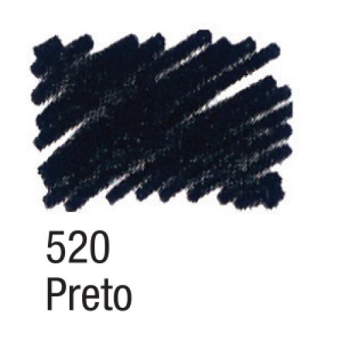 CANETA PARA TECIDO ACRILPEN ACRILEX PRETO 520