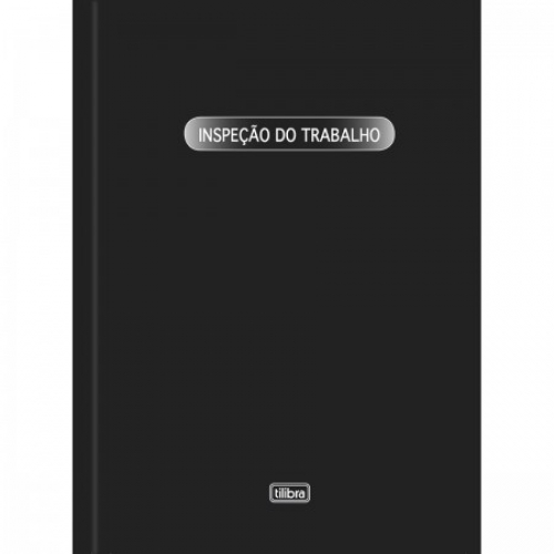 LIVRO REGISTRO DE INSPECAO DE TRABALHO 50FLS TILIBRA