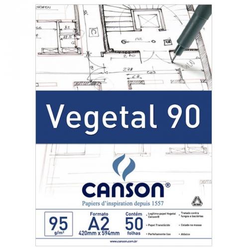 PAPEL VEGETAL A2 92,5G CANSON TECNICO